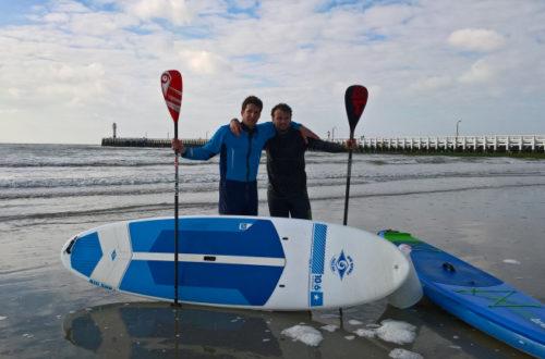 Wim peddelde 240 km voor een beter milieu